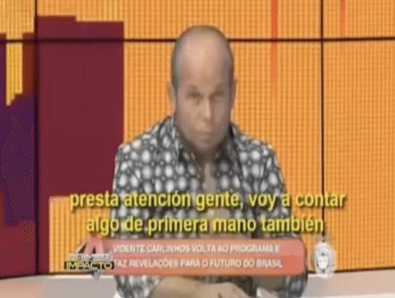 Todos Hablan Del Vidente Que Predijo La Muerte Del Equipo De Futbol De Brasil. Mira El Video De La Escalofriante Predicción
