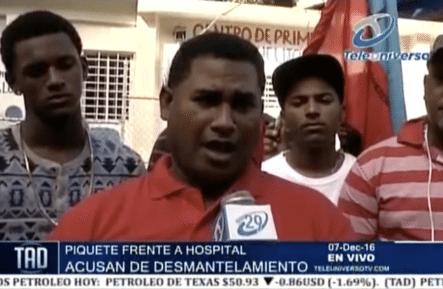 Piquete Frente A Hospital De Los Ciruelitos Por Que Quieren Quitar Dicho Hospital