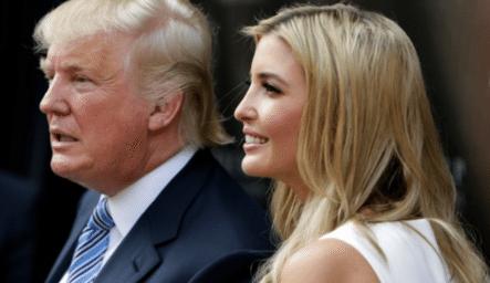 La Hija De Donald Trump, Ivanka Trump Viajaba En Clase Económica En JetBlue Pero Tuvo Un Problema
