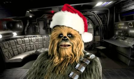 ¿Ya Escuchaste La Canción De Navidad De Chewbacca? Pues Es Una De Las Mas Virales Del Momento