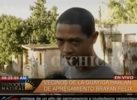 Los Vecinos Cuentan Todo De Como Fue La Captura De Brayan Felix Paulino. Narran Como Los Policías Reventaron Las Puertas De Las Casas