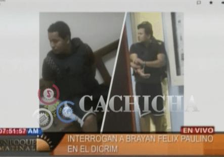 Imágenes Exclusivas De Brayan Felix Paulino Capturado Por Las Autoridades.