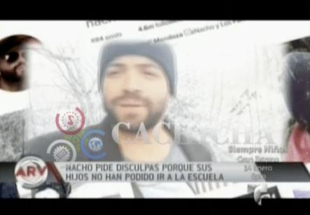 El Cantante Nacho Graba Un Video Con Sus Hijos Y Pide Disculpas