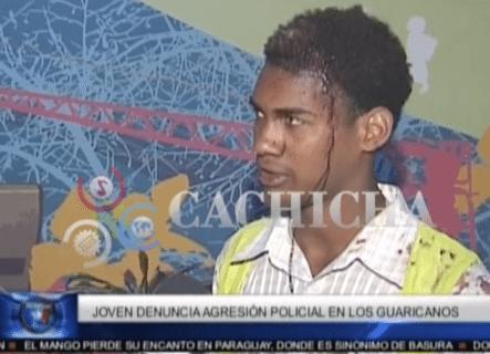 Joven Denuncia Agresión Policial En Los Guaricanos