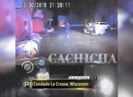 Policías Se Enfrentan A Un Peligroso Criminal Armado Con Cadenas