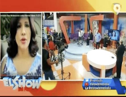 A Gray Lo Critican Por Hablar De La Vice Presidenta Margarita Cedeño Y Su Enfermedad. En El Show Del Mediodía
