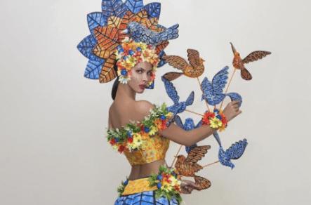 El Traje Típico Que Usará La Miss Universo Dominicana Sal García