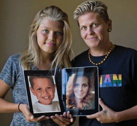 Primera Familia Transgénero De La Historia: Eran Madre E Hijo, Ahora Son Padre E Hija
