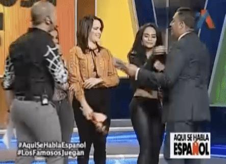 Aquí Se Habla Español Presenta Los Famosos Juegan
