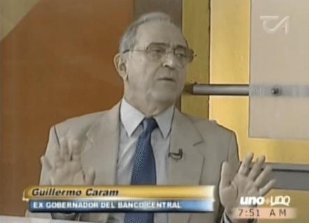Guillermo Caram Ex Gobernador Del Banco Central Saca A La Luz Todo Lo Que Oculta El Gobierno Y El Banco Central: ¿Cual Es El Crecimiento Si Hay Tanta Gente Pobre?