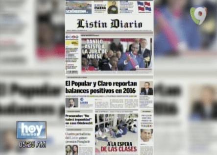 Amanece Bien Informado Con Las Portadas De Los Periódicos Del Día De Hoy 8 De Febrero