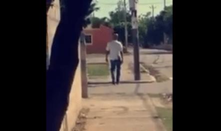 Divulgan Imágenes Del Asesino De San Pedro Momentos Antes De Ser Abatido Por La Policía