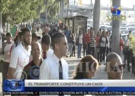 ¿Por Qué Es Tan Molesto Usar El Transporte Público En RD?