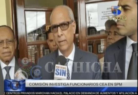 Comisión Investiga A Profundidad El Caso De Corrupción En CEA De San Pedro