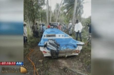 Imágenes Desde El Lugar De Naufragio De Una Embarcación Donde Perdió La Vida Una Mujer