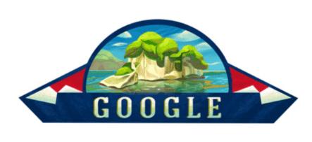 """Google Dedica Su """"doodle"""" De Hoy A La Independencia De República Dominicana"""