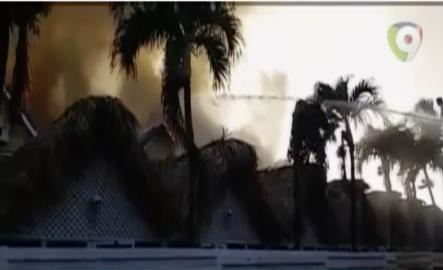 Incendio Afecta A Cabañas Del Hotel Dominicus En La Romana