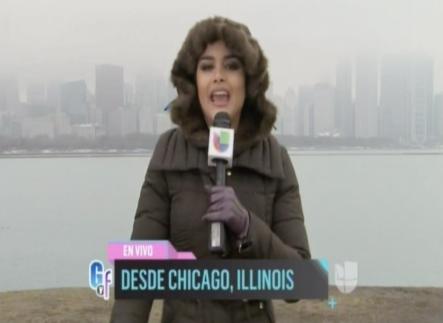 Clarissa Molina Desde Chicago Pasando Frío Y Bien Informada De Lo Mas Viral En Las Redes Sociales