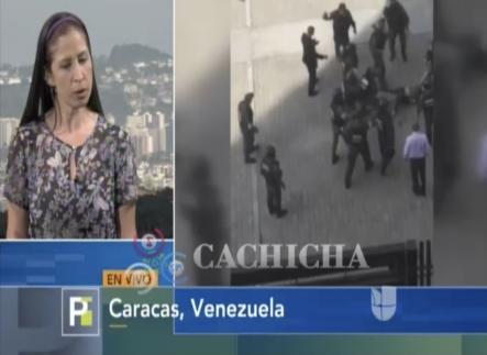Imágenes Fuertes. Entrevista En Exclusiva A Periodista Que Fue Golpeada Salvajemente  Por Militares De Nicolas Maduro