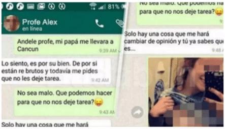 Profesor Pedía Por WhatsApp Fotos Porno A Sus Alumnas Para No Dejarles Tarea En Semana Santa