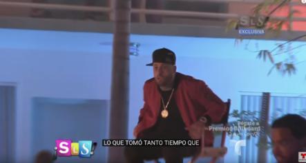 Nicky Jam Se Encontraba Grabando Un Video Cuando De Repente Sucedió Lo Inesperado