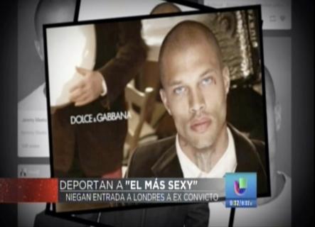 """Al Que Llaman """" El Criminal Mas Sexy Del Mundo"""" Lo Deportaron De El Reino Unido"""
