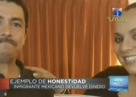 Inmigrante Mexicano Devuelve Dinero En Un Gesto De Honestidad