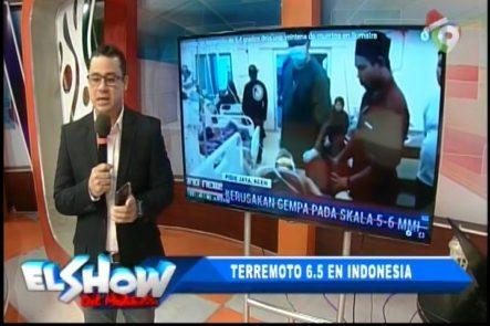 Detalles Sobre El Terremoto Que Sacudió A Indonesia