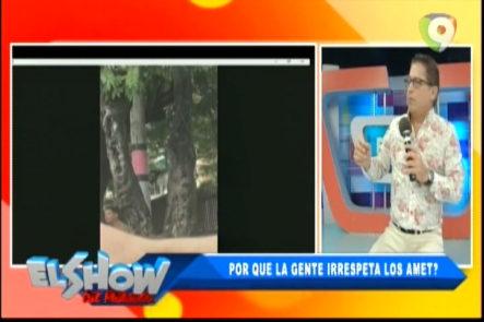 Ivan Ruíz Presenta video donde se enfrenta a hombre que apuntaba con arma a un Agente de AMET