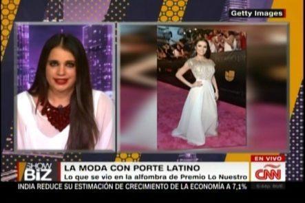 Moda Con Porte Latino, Lo Mejor De Premio Lo Nuestro 2016