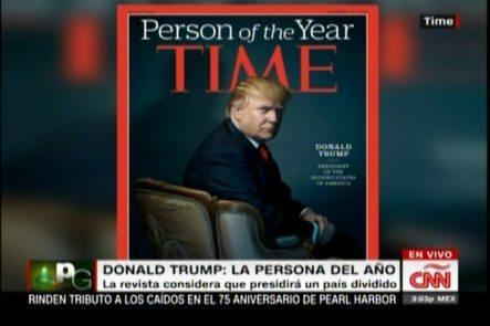 Donald Trump La Persona Del Año Según La Revista Time