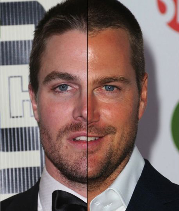 Stephen Amell y Chris O'Donnell