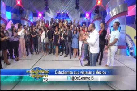 Despedida De Jóvenes Que Viajarán A México Gracias Al Grupo Telemicro