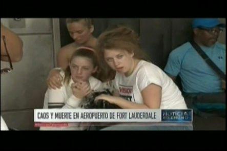 Caos Y Muerte En Aeropuerto De Fort Lauderdale