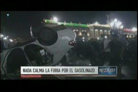 Más Violencia En México Debido A La Subida De La Gasolina