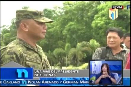 Presidente De Filipinas Incomodó Nuevamente Con Sus Comentarios A La Unión Europea Porque Criticaron Su Violenta Campaña En Contra Del Narcotráfico