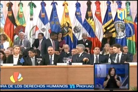 Recuento De lo Más destacado Durante Todo Lo Ocurrido En El Centro De Convenciones de la Reunion Latino Americano y Caribeños Junto Con La Union Europea