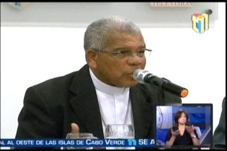 Nuevo Arzobispo De Santo Domingo Francisco Ozoria Dice No Le Interesa El Rango De Mayor General del Ejército Nacional