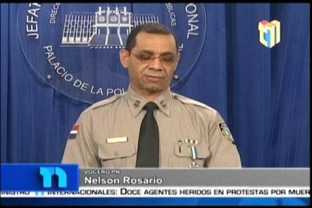 La Policía Reiteró a Pércival Que Se Entregue Por Los Medios Que Considere Pertinente
