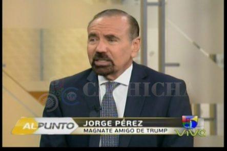 Jorge Ramos Entrevista Al Amigo Latino Multimillonario De Donald Trump Que Le Dijo Que NO