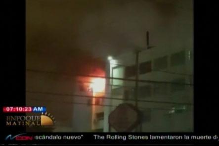 Enfoque Matinal: Un Incendio Se Reportó En El área De Los Consultorios Del Centro Médico UCE