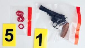 Un arma de juguete