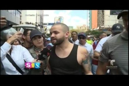 Nacho Sigue Apoyando A Su Pueblo Venezolano