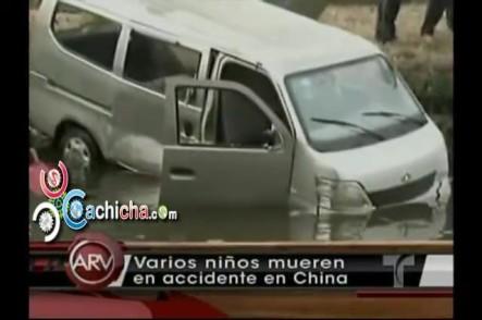 Varios Niños Mueren En Accidente En China #Video