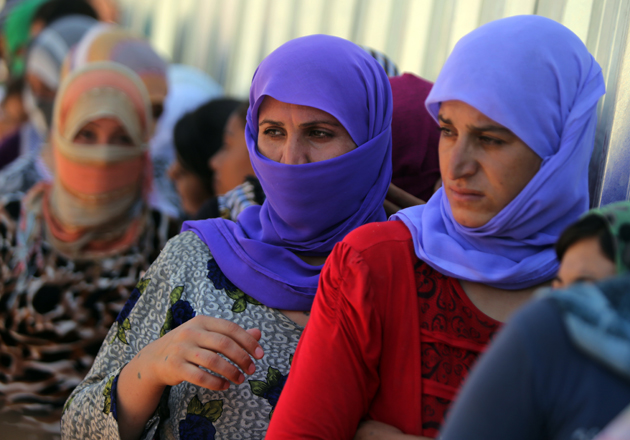 IRAQ-UNREST-YAZIDIS-DISPLACED