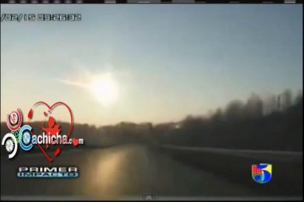 Videos De Cuando Cae El Meteorito En Rusia