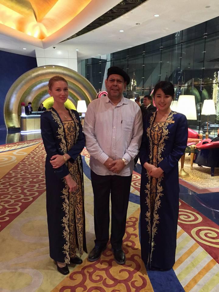 Villalona en Dubai recepción