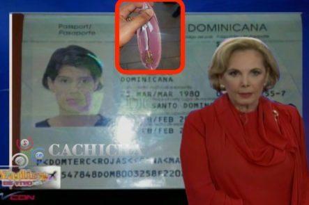 """Dra. Yadira. La Poca Coherencia De La Mujer Que Fue A Renovar Su Visa Con Un """"Detallito"""" En Su Cartera"""