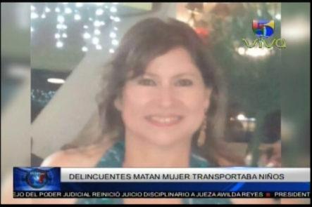 Consternación Por Asesinato De Mujer En La Evaristo Morales