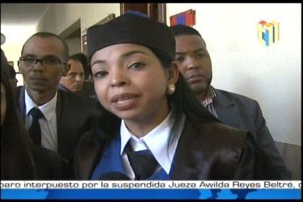 """Yeni Berenice Dice A Blas Peralta Que La Fiscalía """"no Coge Presión"""""""